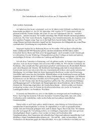 Dr. Eberhard Heyken Die Gedenkstunde von Babij Jar in Kiew am ...