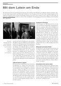 Insider analysieren, Initiativen berichten. - Internationales Bildungs - Seite 6