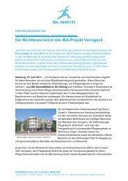 Pressemitteilung downloaden - IBA Hamburg