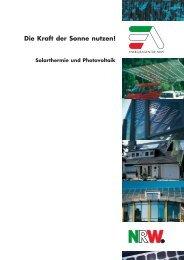 Solarthermie und Photovoltaik-F