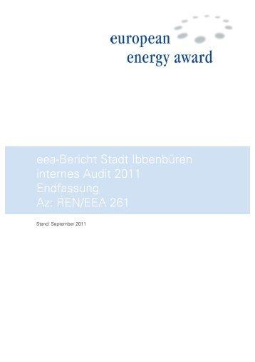 eea-Bericht 2010 - Stadt Ibbenbüren