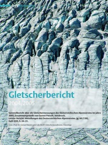 Gletscherbericht