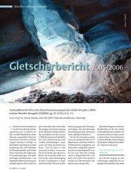 Gletscherbericht 2005/2006