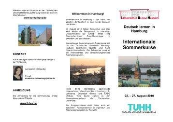 Internationale Sommerkurse - Interkulturelle Bildung Hamburg e.V.