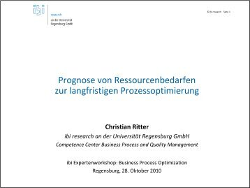 Christian Ritter - ibi Research