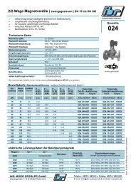 2/2-Wege Magnetventile | zwangsgesteuert | DN 15 bis DN 300 ...