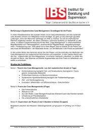 Einführung in Systemisches Case-Management - Institut für ...