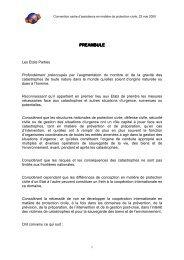 Convention cadre d'assistance en matière de protection - ICDO