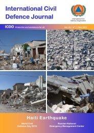 International Civil Defence Journal - ICDO