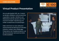 Virtual Product Presentation - Icido