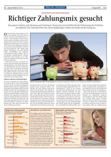 INTERNET-WORLD-Business-Ausgabe-16-2011-Interview ... - Iclear