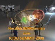 Eröffnung, Ralf Heimberg, ICIDO