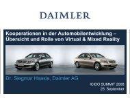 Kooperationen in der Automobilentwicklung – Übersicht und ... - Icido