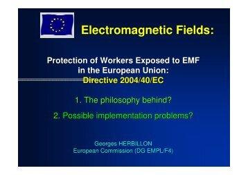 Electromagnetic Fields: -  icnirp