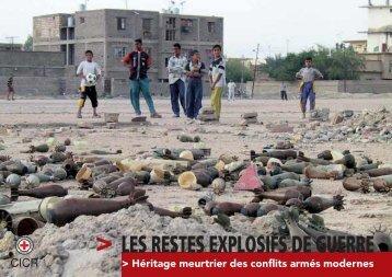 Les restes explosifs de guerre