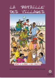 La bataille des villages - International Committee of the  Red Cross