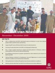 November-December 2009 - International Committee of the  Red Cross
