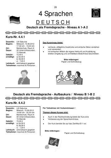 4 Sprachen - Idar-Oberstein