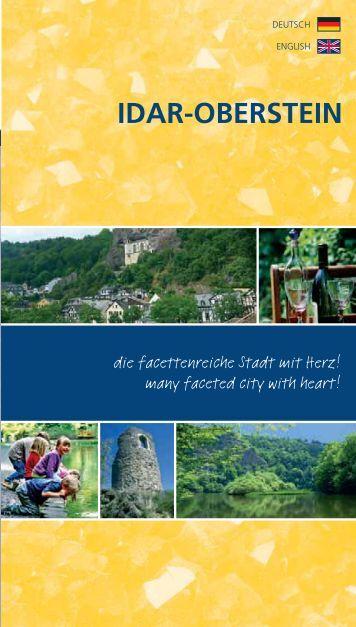 Flyer: Idar-Oberstein, die facettenreiche Stadt mit Herz