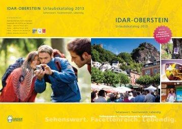 Urlaubskatalog 2013 - Idar-Oberstein