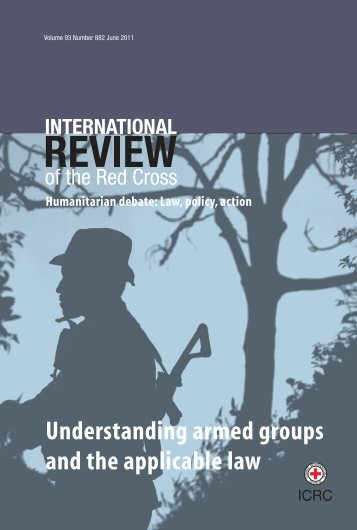 Understanding armed groups and the applicable law - International ...