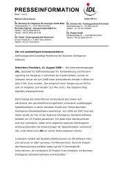presseinformation - idl.eu