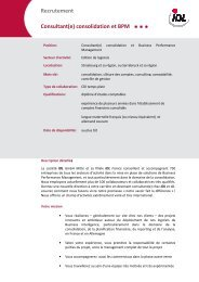 Recrutement Consultant(e) - idl.eu