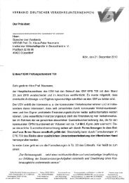 Verband Deutscher Verkehrsunternehmen e.V. (VDV) - IdW
