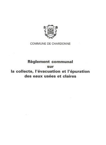 COMMUNE DE CHARDONNE - BTI