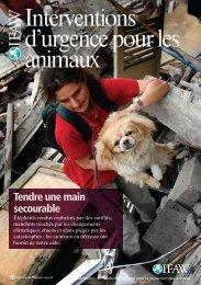Interventions d'urgence pour les animaux