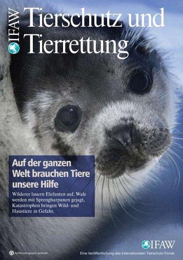 Tierschutz und Tierrettung