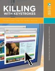 Killing with Keystrokes.pdf - International Fund for Animal Welfare