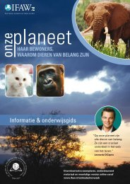 Volledig pakket PDF file - International Fund for Animal Welfare