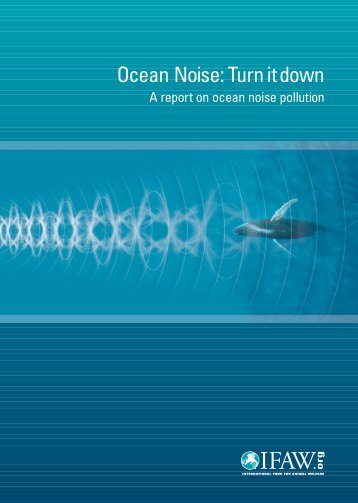 Ocean Noise: Turn it down - Ocean Conservation Research