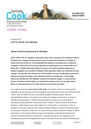James Cook et la découverte du Pacifique - Bern, Historisches ...