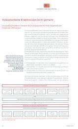Risikoorientierte Kreditrevision leicht gemacht - ifb AG