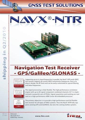 'NTR' Flyer - IFEN