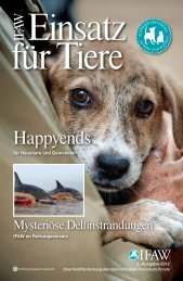 Happyends - International Fund for Animal Welfare
