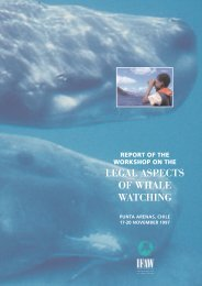 leagal aspects of  the whale watching.pdf - International Fund for ...