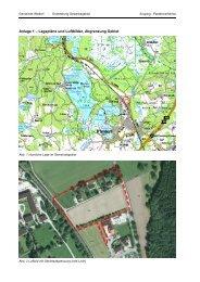 Scoping - Erweiterung Gewerbegebiet an der Seeshaupter Straße