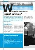 Abfall-Sammelstellen in der Gemeinde planen, errichten ... - Abfall.ch - Seite 6