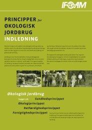 PRINCIPPER for ØKOLOGISK JORDBRUG INDLEDNING - ifoam