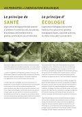 LES PRINCIPES de L'AGRICULTURE BIOLOGIQUE ... - ifoam - Page 2