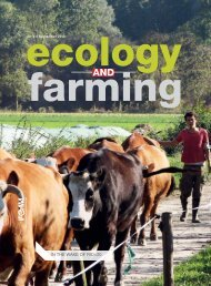 Ecology and Farming No 3/2012 - Weto dla GMO