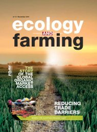 Ecology and Farming No 5/2011 - ifoam