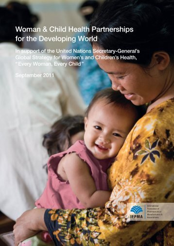 Woman & Child Health Partnerships for the Developing - IFPMA
