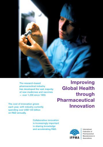 Improving Global Health through Pharmaceutical Innovation - IFPMA