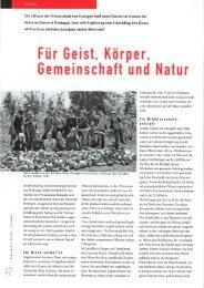 Bericht Schulblatt AG/SO Ausgabe 15/2009