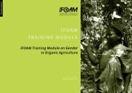 IFOAM Training Module on Gender in Organic Agriculture