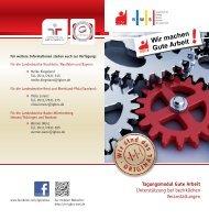 Tagungsmodul Gute Arbeit - IG BCE BWS GmbH